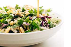 Asian Kale Salad with Chicken by Elite Training Facility
