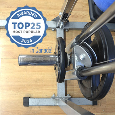 Awarded Top 25 in Canada 2016 at Elite Training Facility