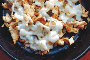 Chicken Philly Cheesesteak Bowl by Elite Training Facility