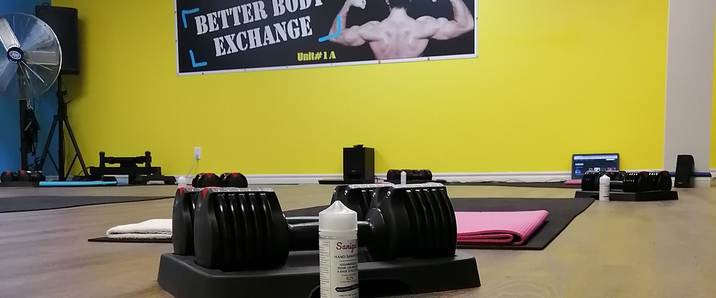 Class Schedule Header Image for Elite Training Facility