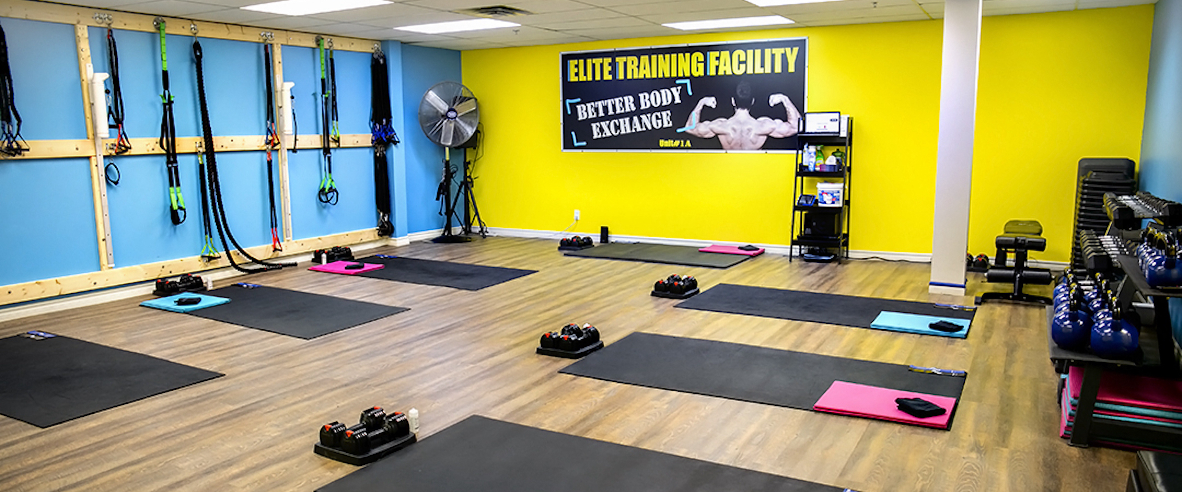 Come and Visit Us at the New Elite Training Facility Location