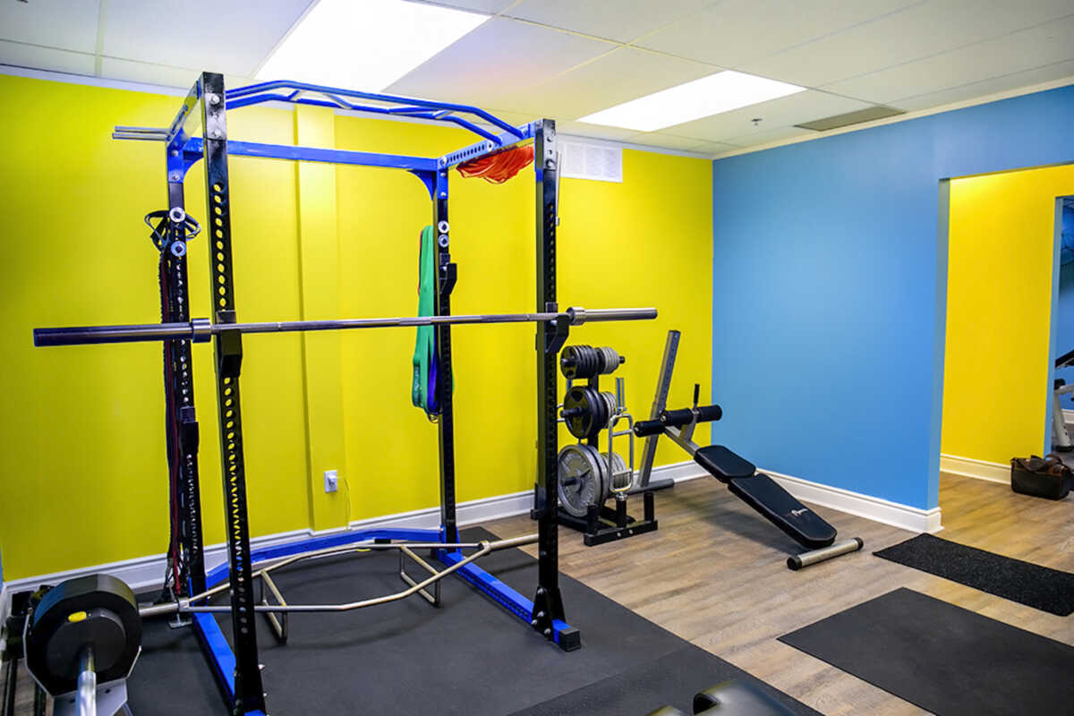 Fitness Equipment at Elite Training Facility