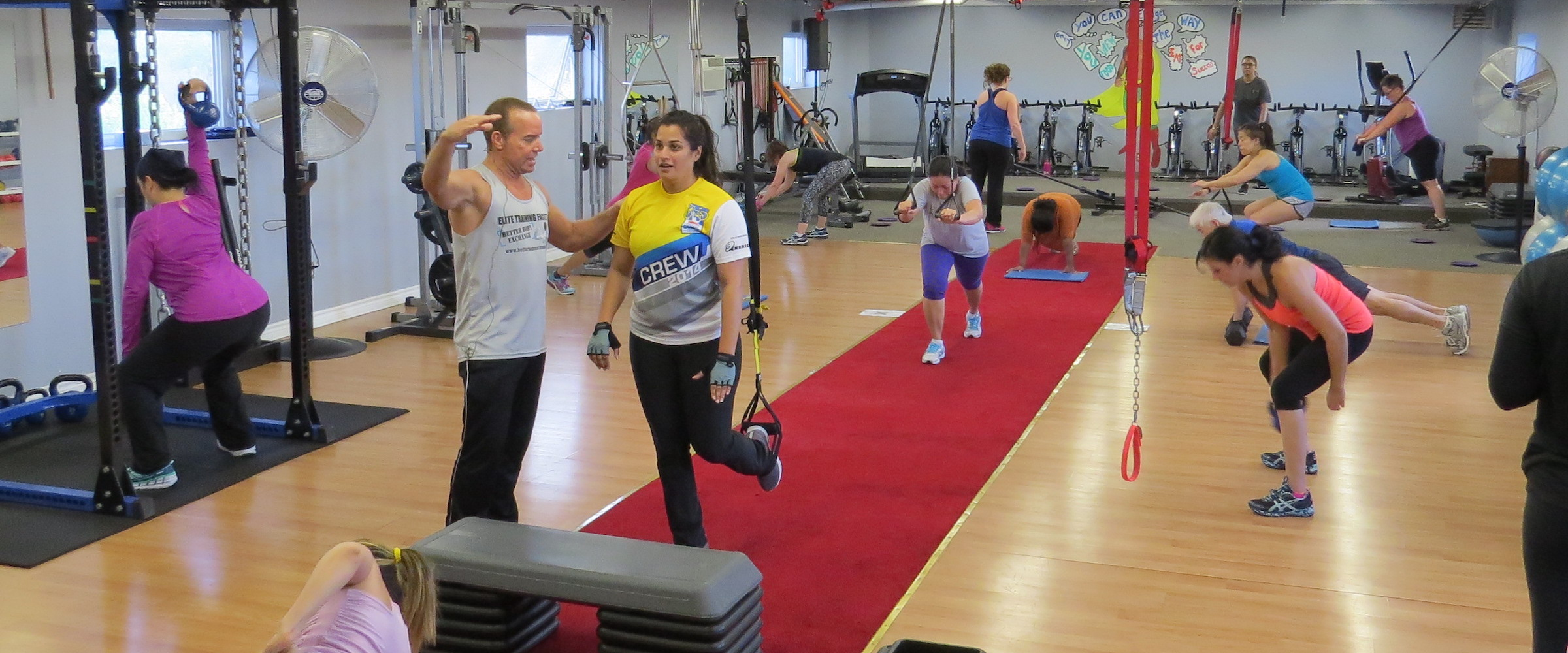 Group Fitness Classes at Elite Training Facility