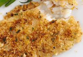 Italian Crumb Topping Cod by Elite Training Facility