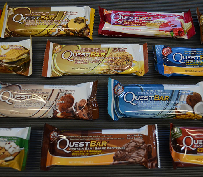 Quest Bars at Elite Training Facility