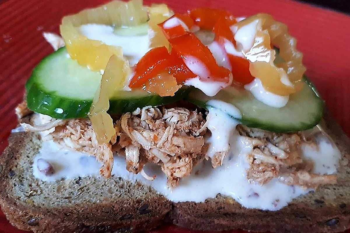 Slow Cooker Low Carb Sandwich by Elite Training Facility