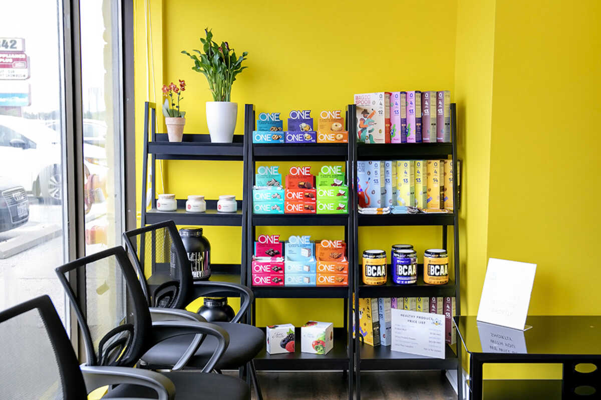 Stock Up on Healthy Products at Elite Training Facility