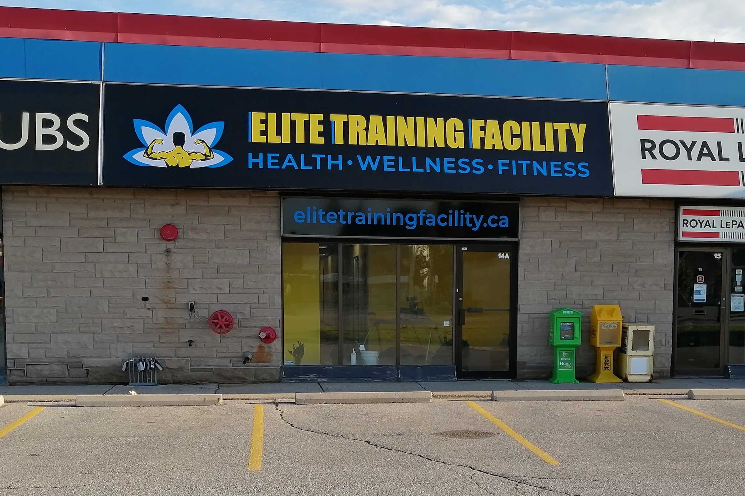 Stop by our New Facility at Elite Training Facility