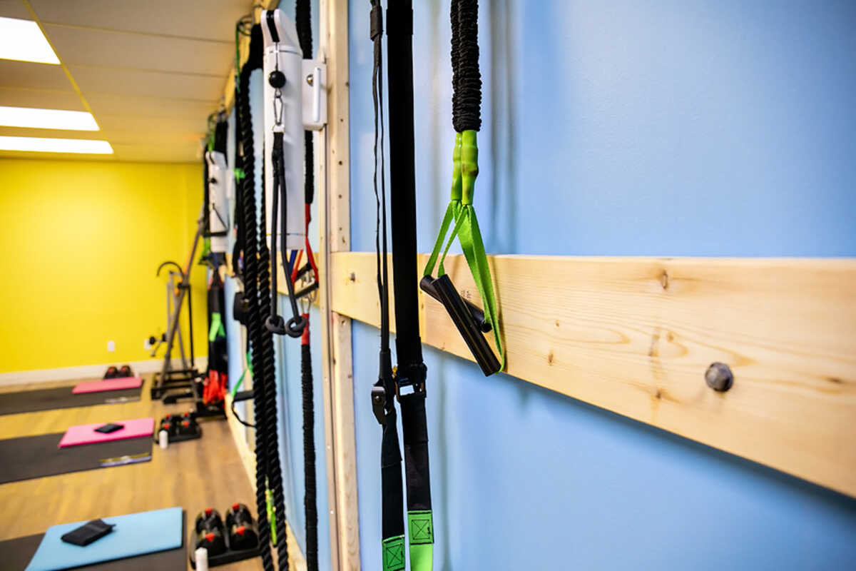 Tension Bands at Elite Training Facility